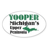 Yooper Michigan's U.P. Oval Decal