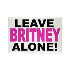 Leave Britney Alone! Rectangle Magnet
