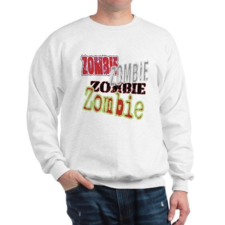 Zombie Creepy Halloween Sweatshirt