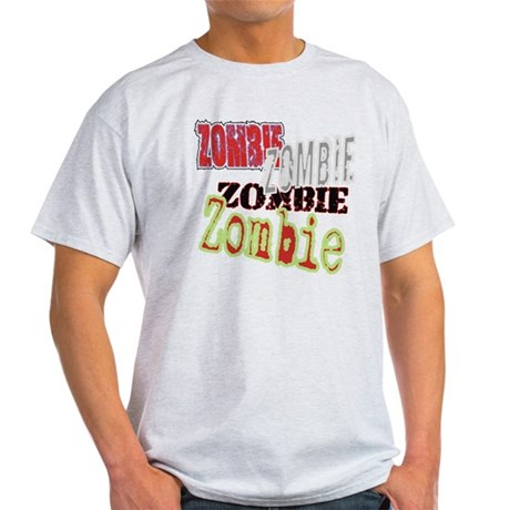 Zombie Creepy Halloween Light T-Shirt