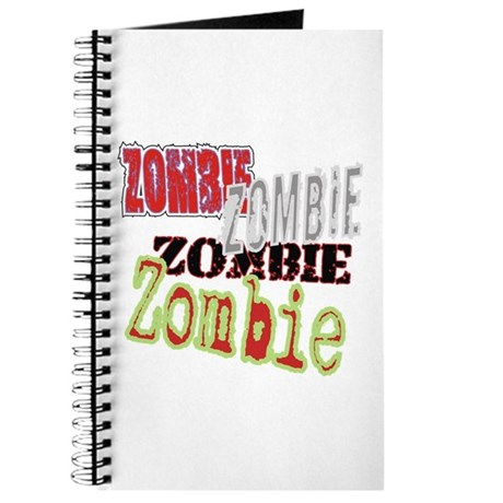 Zombie Creepy Halloween Journal