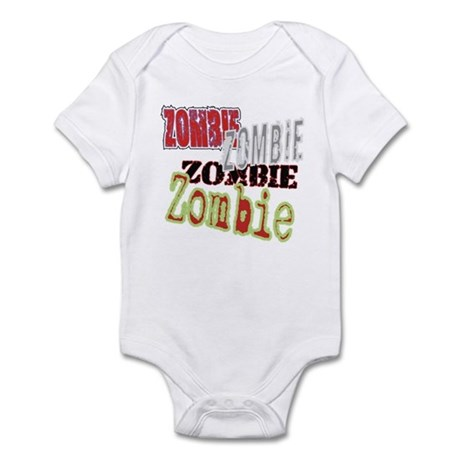 Zombie Creepy Halloween Infant Bodysuit