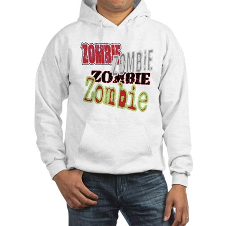 Zombie Creepy Halloween Hooded Sweatshirt