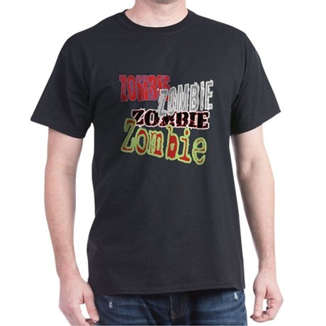 Zombie Creepy Halloween Dark T-Shirt