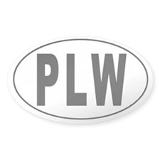 PALAU Oval Decal