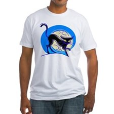 Blue Halloween cat Shirt