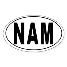 NAMIBIA Oval Decal