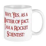 Cute Rocket scientist Mug