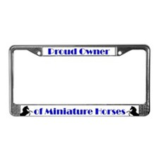 Proud Owner Plate Frame