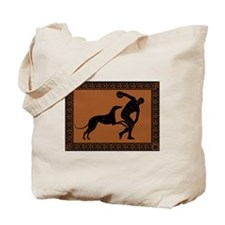 Tote Bag - Greek frisbee