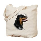 Rottweiler Mom2 Tote Bag