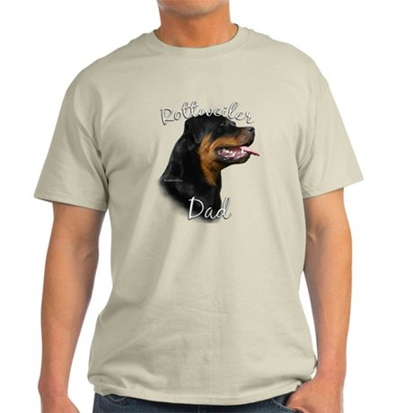 Rottweiler Dad2 Light T-Shirt