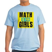 Math for girls T-Shirt
