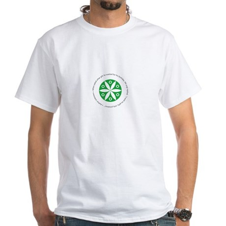 Yoga circular saying design White T-Shirt