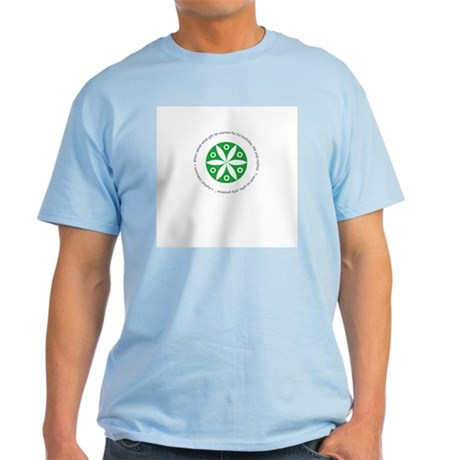 Yoga circular saying design Light T-Shirt
