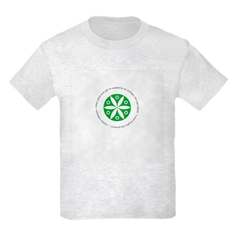 Yoga circular saying design Kids Light T-Shirt