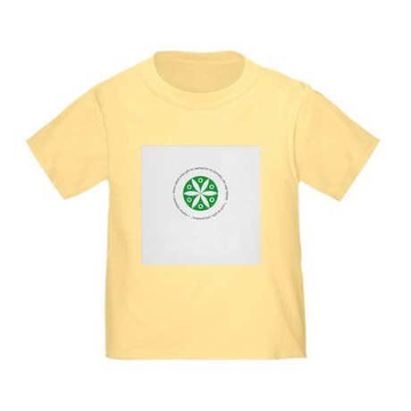 Yoga circular saying design Toddler T-Shirt
