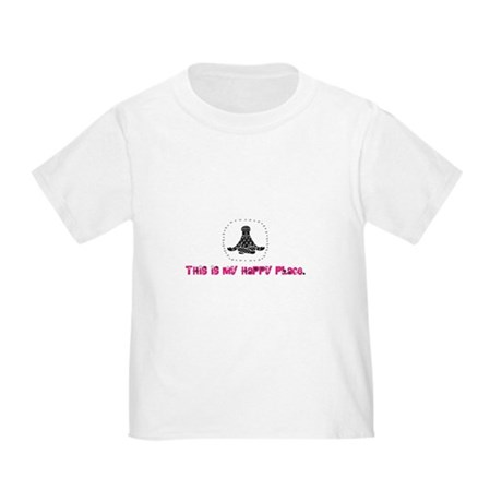 Yoga Happy Place Toddler T-Shirt