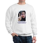 Two Fingers Thanks USA Sweatshirt
