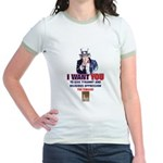 Give Tyranny the Finger Jr. Ringer T-shirt
