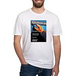 Dear World Fitted T-Shirt