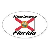 Kissimmee Florida Oval Decal