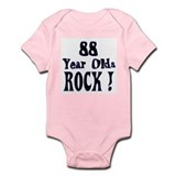 88 Year Olds Rock ! Infant Bodysuit
