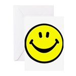 Happy Face Greeting Cards (Pk of 20)