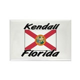 Kendall Florida Rectangle Magnet