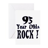95 Year Olds Rock ! Greeting Cards (Pk of 10)