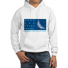 Unique Moon and stars Hoodie