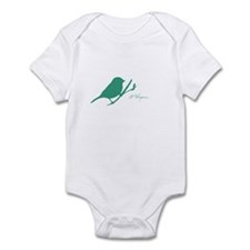 Cute Ovarian cancer awareness Infant Bodysuit