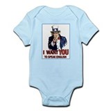Uncle Sam ~ I Want You... Infant Bodysuit
