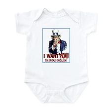 Uncle Sam ~ I Want You... Infant Bodysuit
