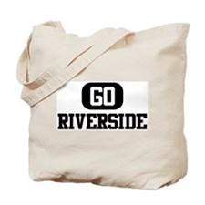 GO RIVERSIDE Tote Bag