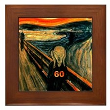 Scream 60th Framed Tile