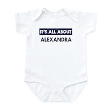 All about ALEXANDRA Infant Bodysuit