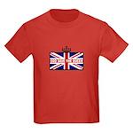 God Save The Queen Kids Dark T-Shirt
