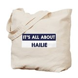 All about HAILIE Tote Bag