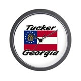 Tucker Georgia Wall Clock