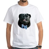 Pug(black)Name Shirt