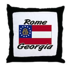 Rome Georgia Throw Pillow