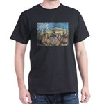Three Magi Black T-Shirt