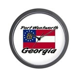 Port Wentworth Georgia Wall Clock