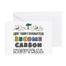 Become Carbon Neutral Greeting Card