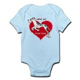 Love Harle Dane UC Onesie