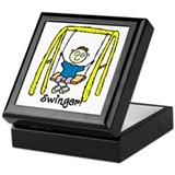 Swinger Swing Set! Keepsake Box