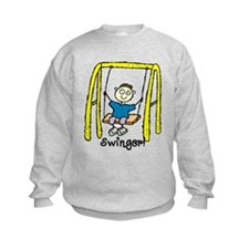Swinger Swing Set! Sweatshirt