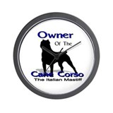Cane Corso Owner Wall Clock