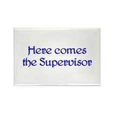 Supervisor Rectangle Magnet (100 pack)